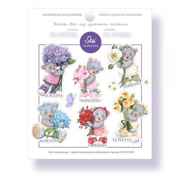 Наклейки YA PLUS YA Коллекция Flowers