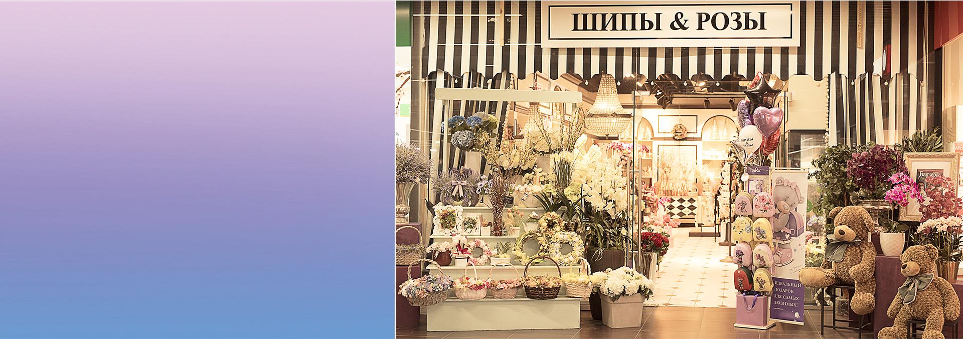 Сеть салонов цветов и подарков «Шипы и Розы»